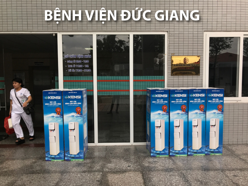 Hệ thống lọc nước cho bệnh viện