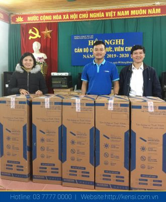bàn giáo máy lọc nước RO cho các trường học bán trú
