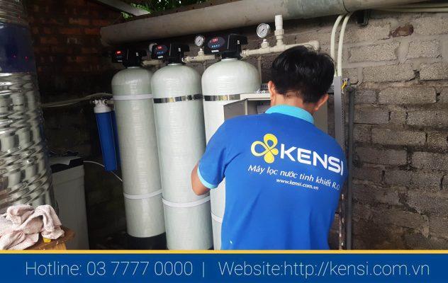 Bảo dưỡng hệ thống lọc nước công nghiệp