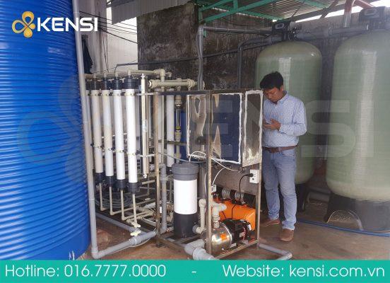 Hệ thống lọc nước biển cho nuôi tôm giống
