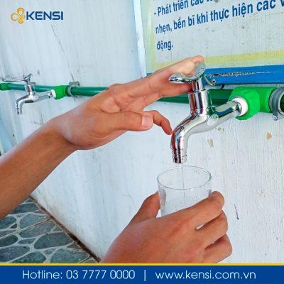 Vòi lấy nước tiện lợi